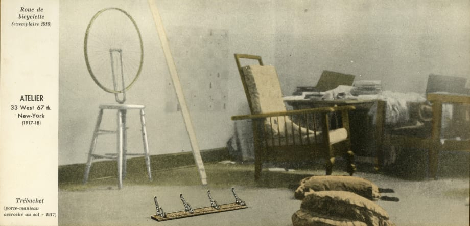 Marcel Duchamp's 67th Street Studio by Marcel Duchamp
