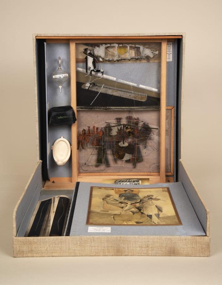 De ou par MARCEL DUCHAMP ou RROSE SELAVY [from or by MARCEL DUCHAMP or RROSE SELAVY] or La Boîte-en-valise [The Box in a Valise] by Marcel Duchamp