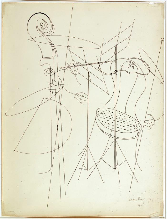 Quartet by Man Ray