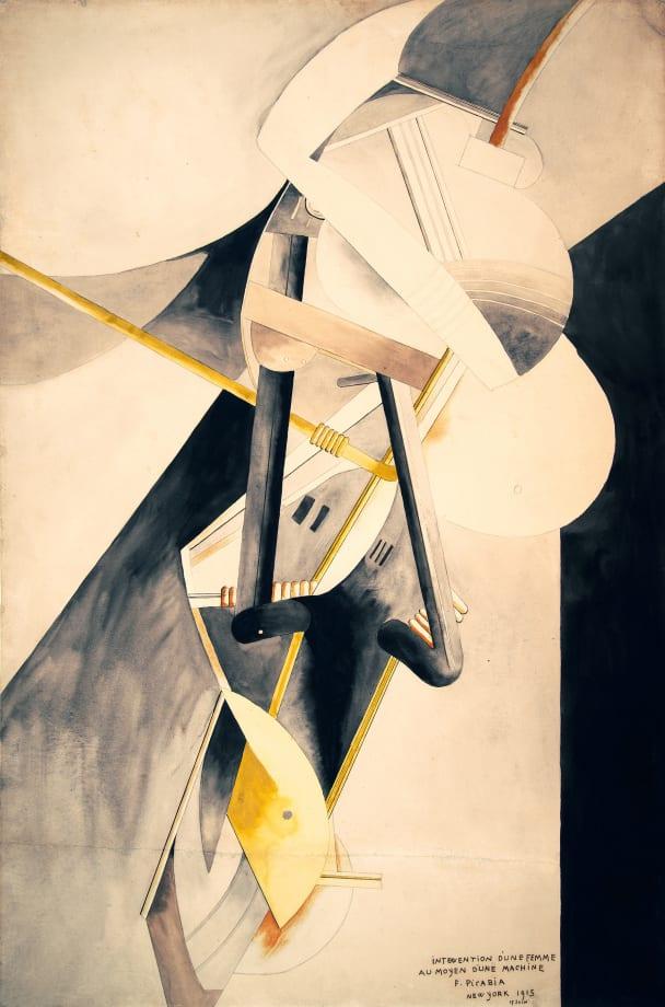 Intervention d'une femme au moyen d'une machine [Intervention of a Woman by Means of a Machine] by Francis Picabia