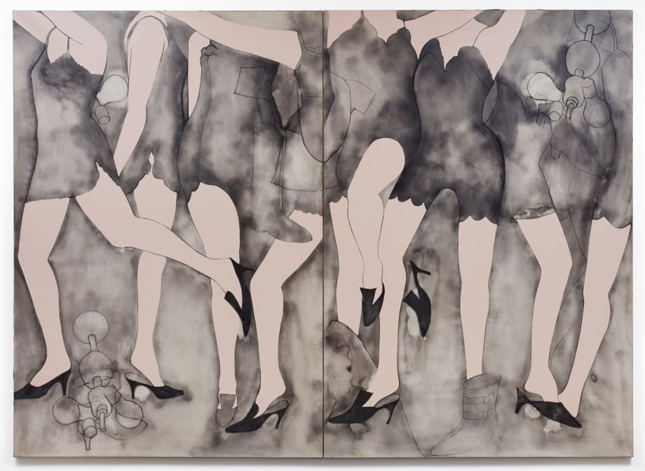 Moving Girls & Dreams  by Jim Dine
