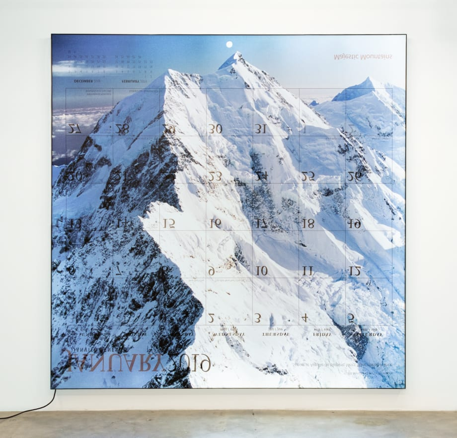 Majestic Mountains 2019 (January) by Mungo Thomson