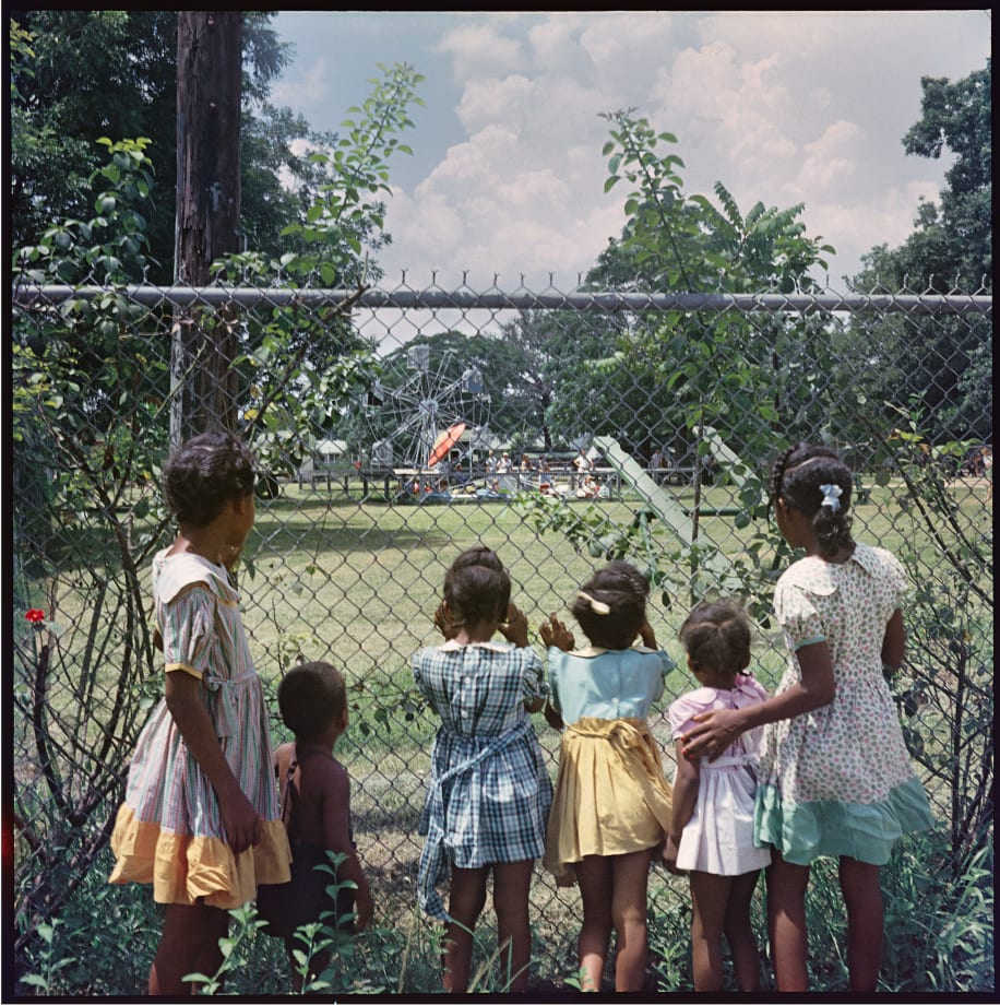 Outside Looking In, Mobile, Alabama, 1956 by Gordon Parks