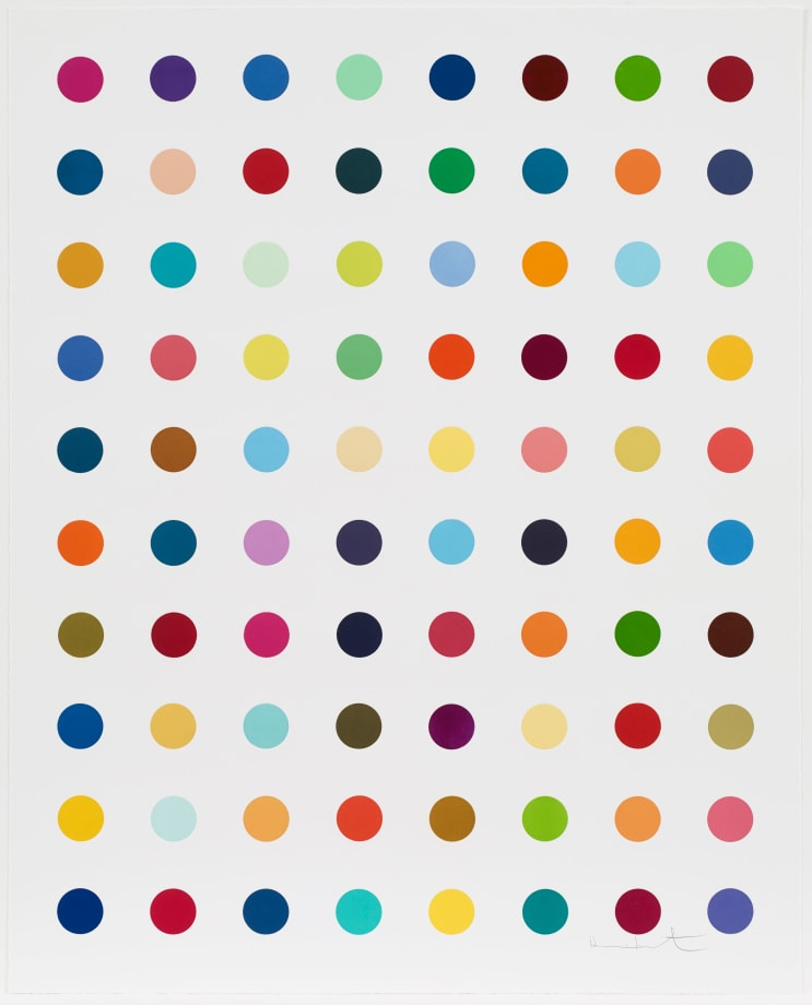 Gly-Gly-Ala by Damien Hirst