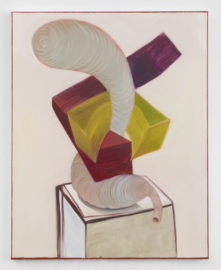 Cubist Female Innards 2 by Nicole Eisenman