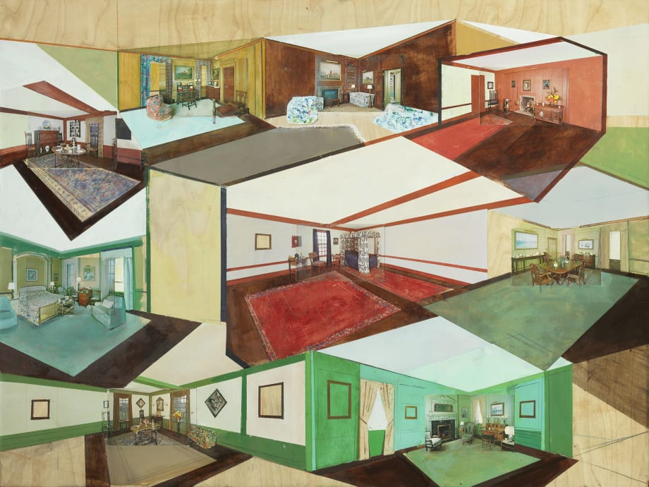 Collected Rooms by William Wegman