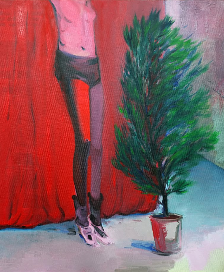 Tree and Girl by Tie Ying