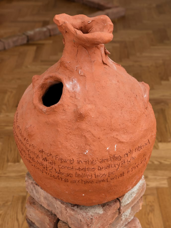 Red Vase by Esteban Cabeza de Baca