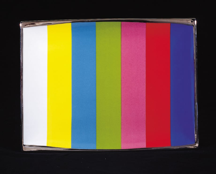 Test Pattern: T.V. Dinner Plates from the Miss General Idea Pavillion by General Idea