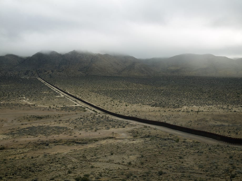 Border Cantos (Three Views) by Richard Misrach
