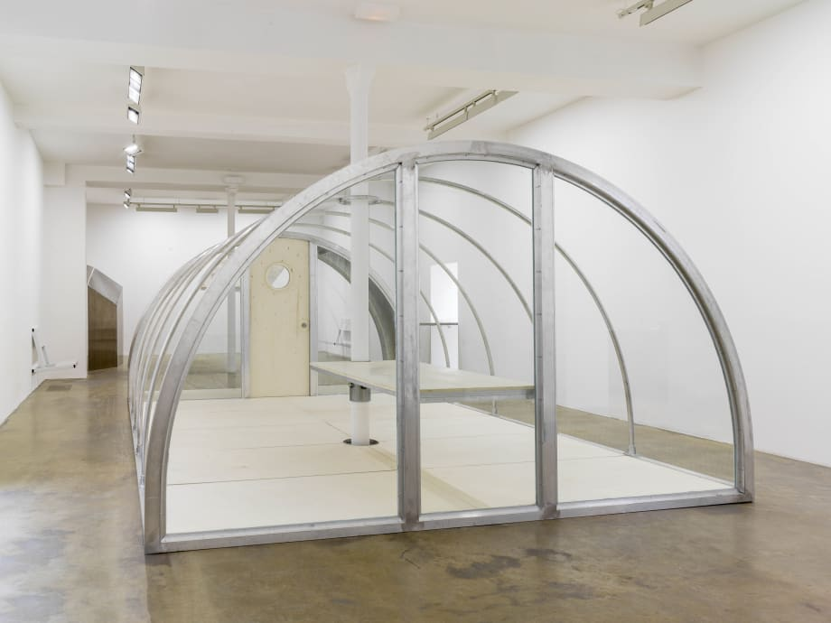 Quonset Tent by Oscar Tuazon