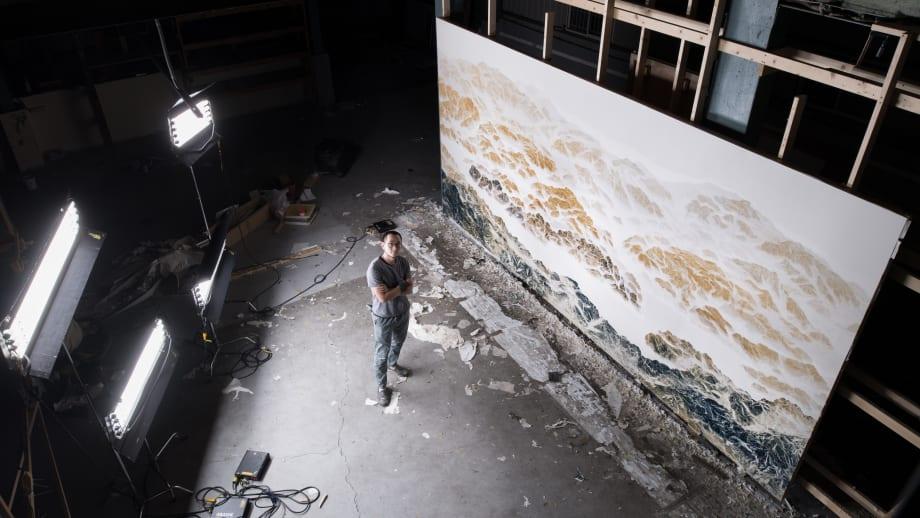 Cyano-Collage 064 by Chi-Tsung Wu