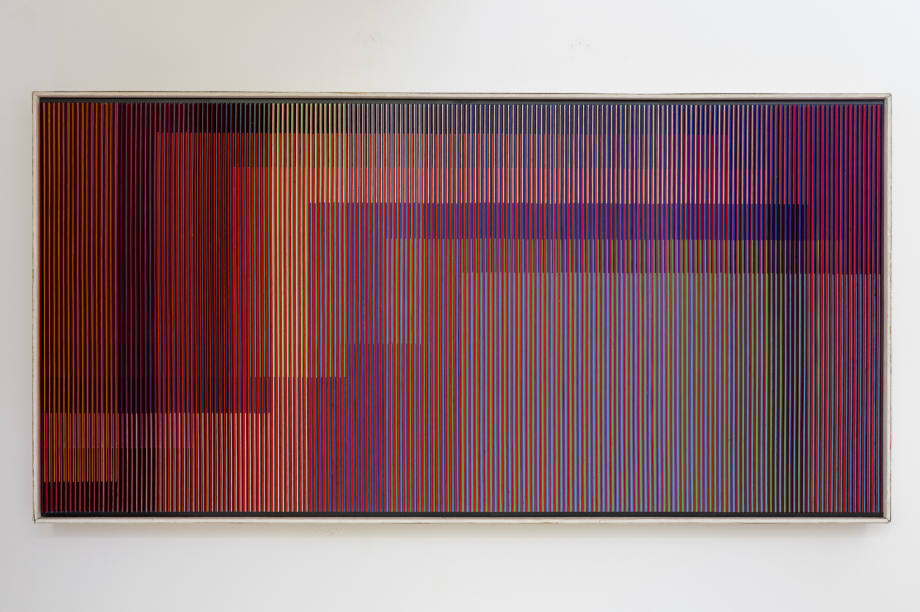 Physichromie 483 by Carlos Cruz Diez