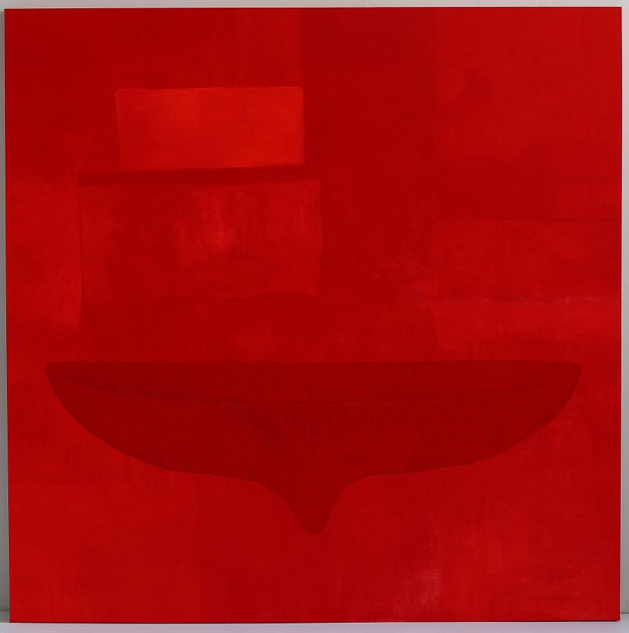 Red Alert! My Body My Space III by Pinaree Sanpitak