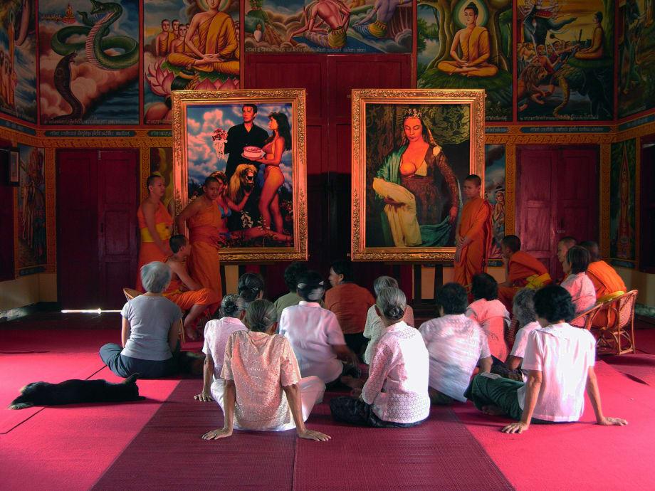 Village and Elsewhere: Jeff Koons' Untitled, Cindy Sherman's Untitled, and  Thai Villagers by Araya Rasdjarmrearnsook