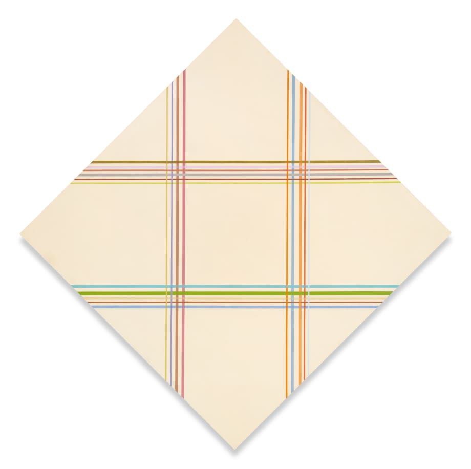 Interlinear by Kenneth Noland