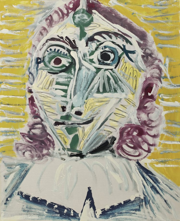 Mousquetaire. Buste by Pablo Picasso