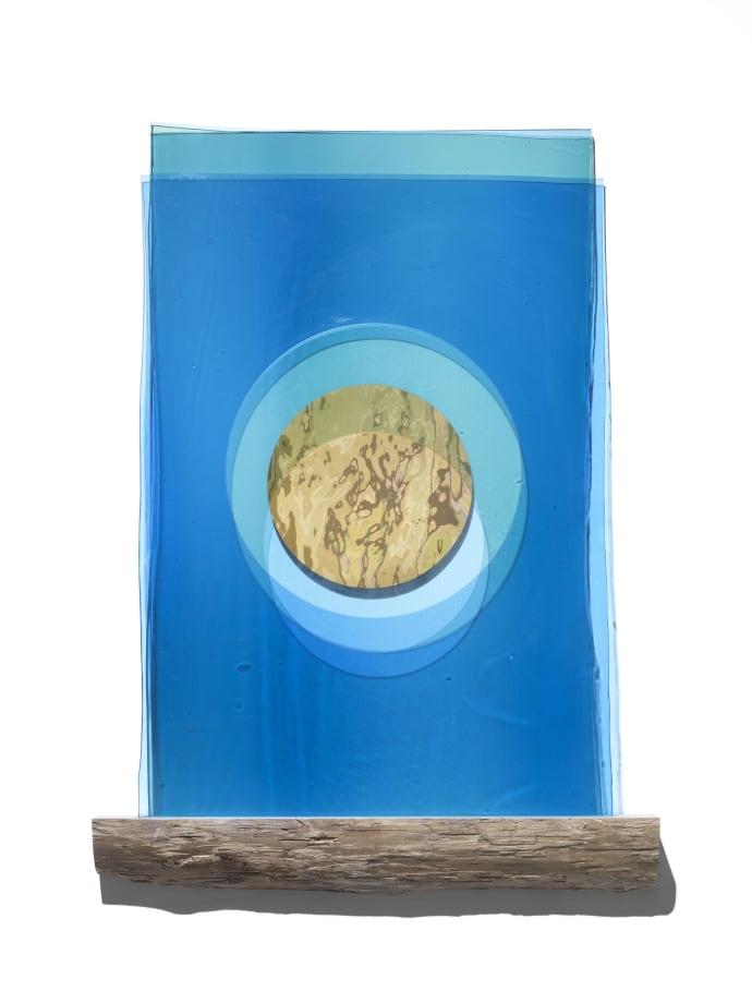 Submergence (blue sun)  by Olafur Eliasson