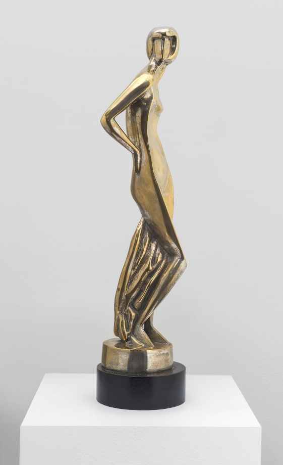 """""""Glorification of Beauty (Standing Concave) by Alexander Archipenko"""