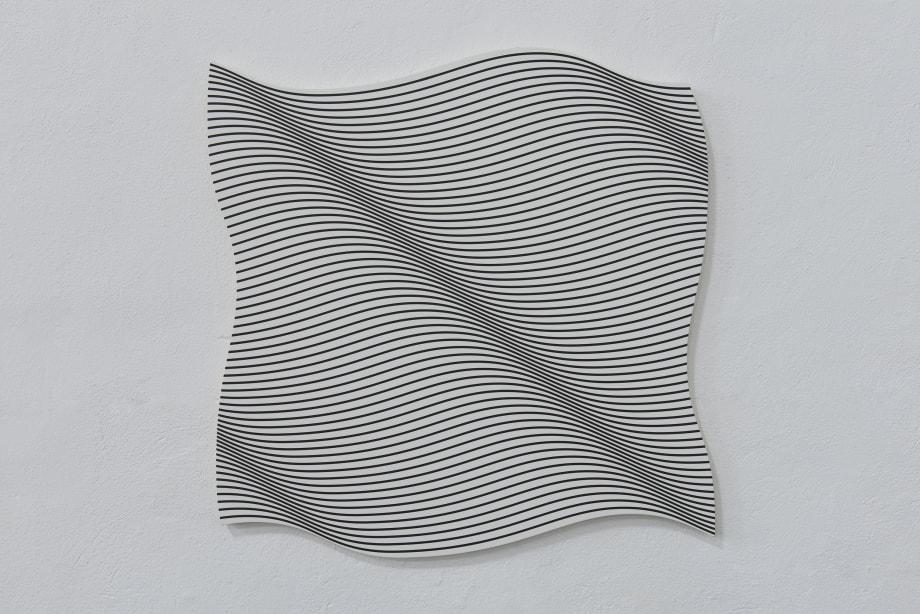 Flag (WV) by Philippe Decrauzat
