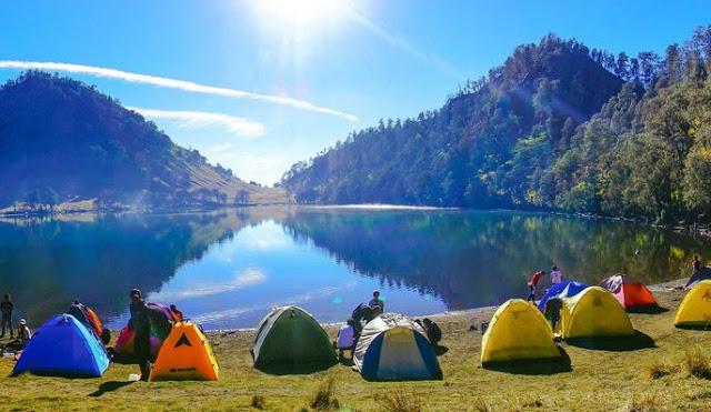 Danau Indah di Lumajang
