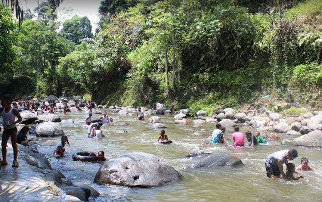 Fasilitas Wisata Sungai Sembahe