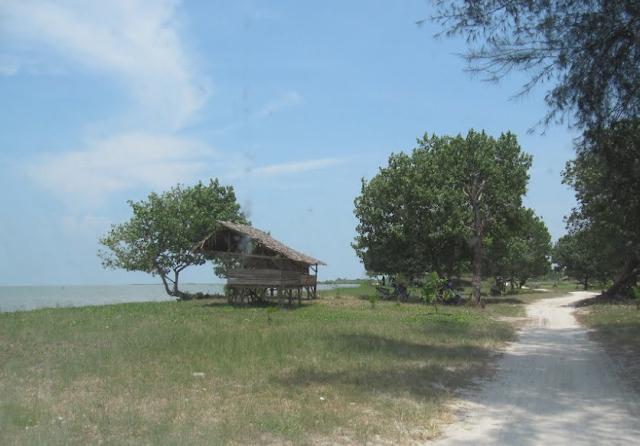 Lokasi Pantai Muara Indah
