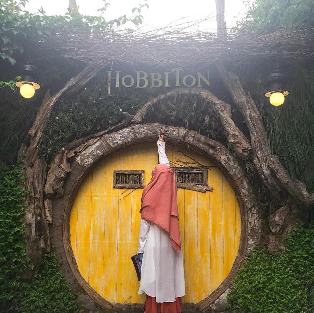 Wisata Rumah Hobbit Farmhouse Lembang Bandung