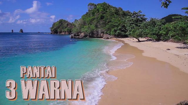 Tempat Wisata Pantai Tiga Warna Malang