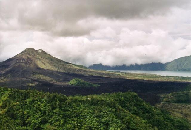 Wisata gunung Batur di Bali