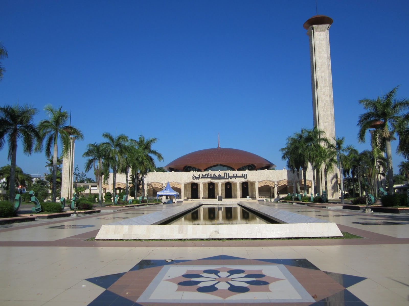 tempat wisata wisata kalimantan selatan masjid sahbilal muhtadin