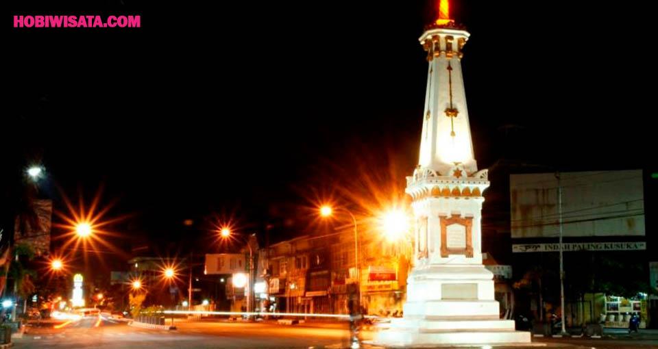 Jalan-jalan Malam di Seputaran Tugu dan Malioboro Jogja