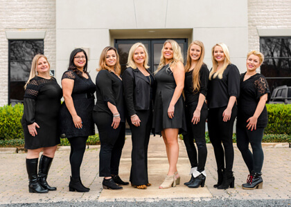 The houston dentist team