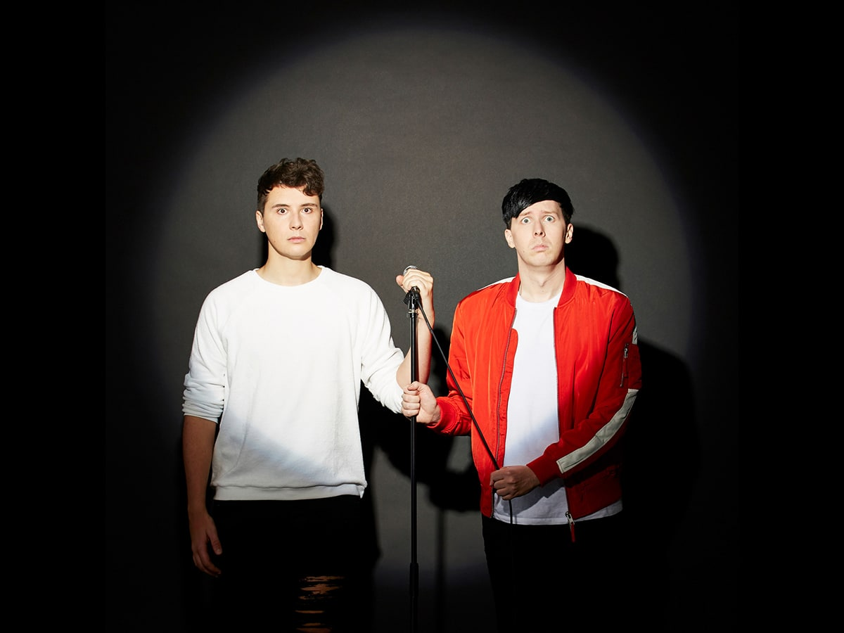 Dan And Phil World Tour 2018 Interactive Introverts Dr Phillips
