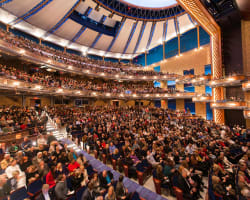 Live event crowd at Dr. Phillips Center