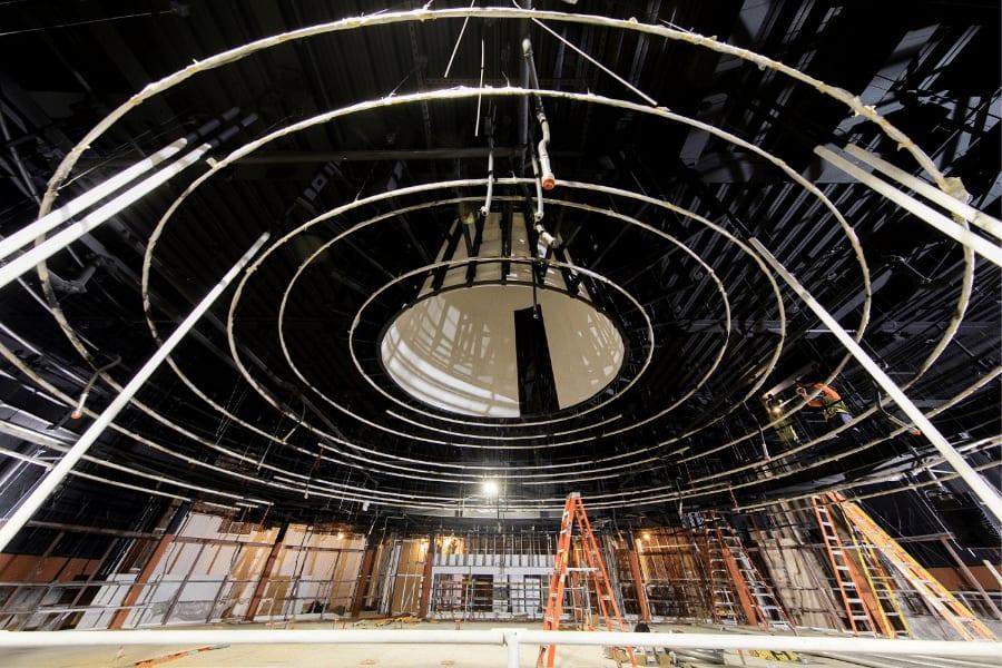Steinmentz Hall oculus downtown Orlando