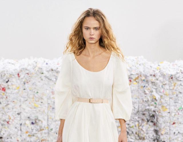 Показ Gabriela Hearst на Неделе моды в Нью-Йорке