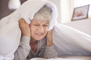 loud snoring sleeping difficulty