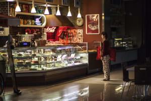 sleepwalker at cafe