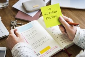 Morning Routing diary