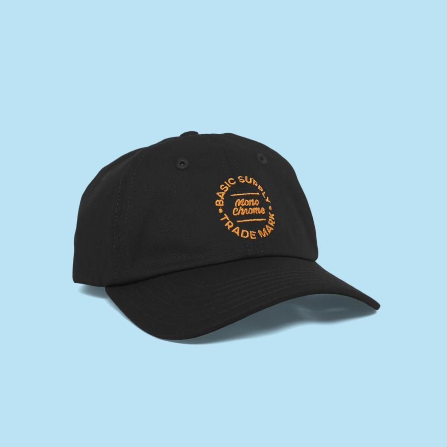 Topi Baseball Monochrome Good Gold Caps