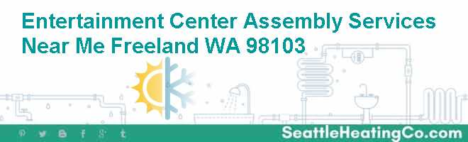 Entertainment Center Assembly Services Near Me Freeland WA 98103