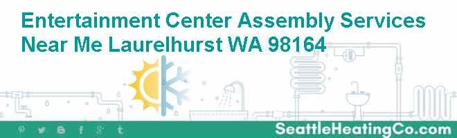 Entertainment Center Assembly Services Near Me Laurelhurst WA 98164