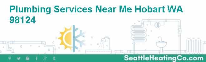 Plumbing Services Near Me Hobart WA 98124