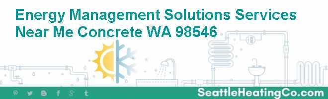 Energy Management Solutions Services Near Me Concrete WA 98546