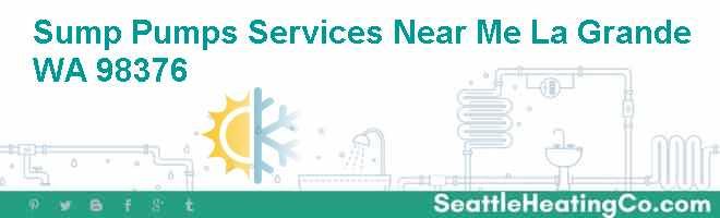 Sump Pumps Services Near Me La Grande WA 98376