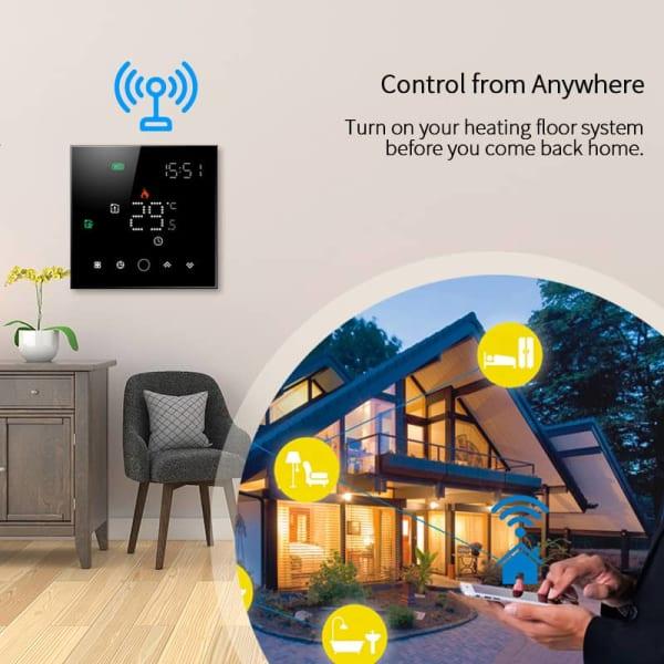 Wi-fi termostat ETK-103W