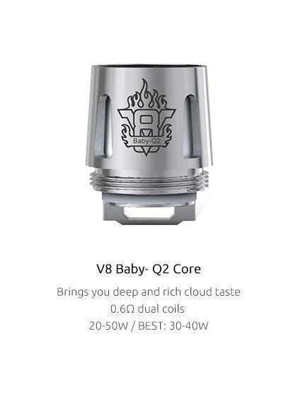 'SMOK TFV8 BABY Q2 COIL 0.6OHM'