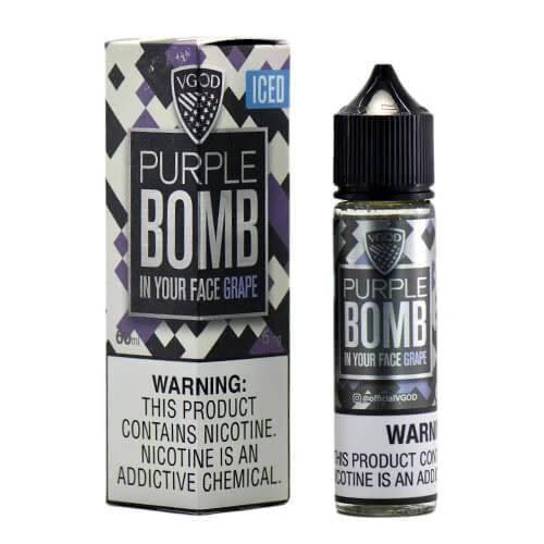'Vgod Purple Bomb Ice 18mg'
