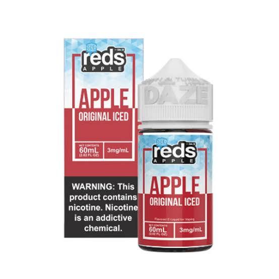 'RED APPLE ICE 3MG'